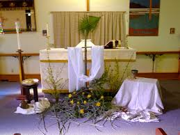 Easter Decorations To Make Pinterest by 38 Best Easter Altar Space Images On Pinterest Altars Church