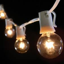 string bulbs outdoor lighting globe string lights white wire rcb