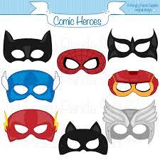 comic hero masks comic book heroes comic masks superhero