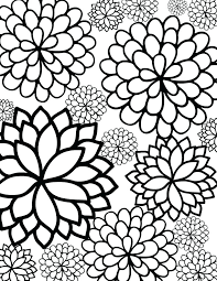 pretty coloring pages printable for adults a kids u2013 vonsurroquen