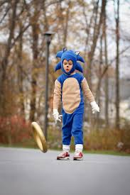Handmade In Costume - our handmade sonic the hedgehog early costume