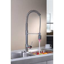 kitchen tap faucet led pull out spray kitchen mixer tap chrome buy pull out taps