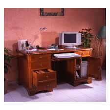 bureau pour ordinateur grand bureau merisier louis philippe meubles de normandie