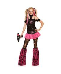 spirit of halloween costumes miss cyanide punk halloween costume halloween costumes