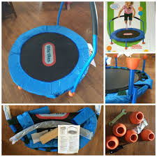 beat the winter blues with the little tikes trampoline giveaway