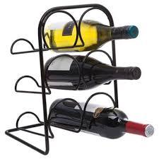 buy hahn 6 bottle wine rack black from our wine racks range tesco