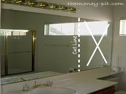 bathroom mirror frame kit home depot s rk com