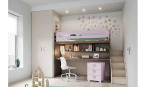lit superposé avec bureau chambres d enfants avec lits superposés et intégré dans la zone d