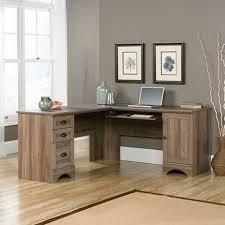 Sauder Corner Computer Desk With Hutch Sauder Harbor View Computer Desk With Hutch Salt Oak Esnjlaw Com