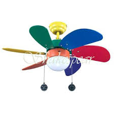 primary color ceiling fan colorful ceiling fan appealing multi colored with light yellow wire
