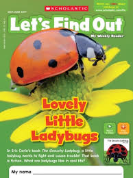 teach ladybugs with a book a magazine crafts and a treat