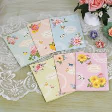 vintage birthday cards with envelopes 6 designs butterfly