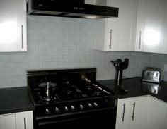 Subway Tile Backsplash Kitchen by White Glass Subway Tile Subway Tiles Kitchen Backsplash And