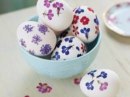 egg decorations how to make floral easter egg decorations