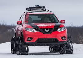 nissan rogue hatch tent nissan u0027s winter warriors keep on tracking iol motoring