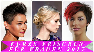 Kurzhaarfrisuren Trend 2017 Damen by Kurze Frisuren Für Frauen 2017
