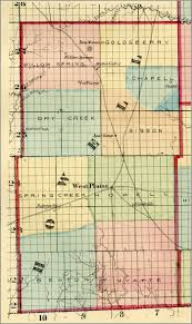 Map Of Missouri Counties Ozarks Civil War Counties