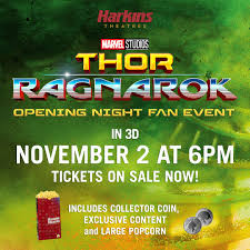 thor ragnarok opening night fan event harkins theatres on twitter join us for the 3d thor ragnarok