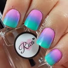 plump and polished the beauty buffs pastels gradient nail art