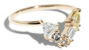 custom cluster v shaped ring bario neal custom cluster v shaped ring bario neal