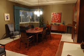 apartment dining room mad men u0027 the story behind don draper u0027s new digs l a at home