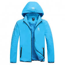 light blue adidas hoodie windbreaker jacket adidas clover online hoodie mens light blue 1 1 jpg