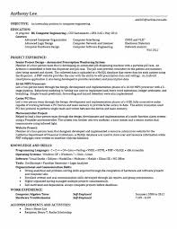 Fillable Resume