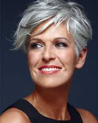 hair styles for 70 yr old women simple very short layered gray hairstyles for oval faces women