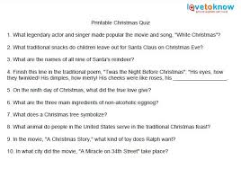 6 best images of printable christmas trivia quizzes christmas