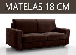 canape matelas canape lit 3 places master convertible rapido 140 cm matelas 18 cm