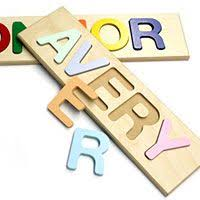personalized keepsakes personalised wooden name puzzles by tinyme au this company has