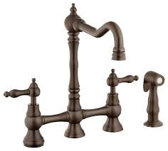 kitchen faucet bronze clean water stains rubbed bronze kitchen faucet