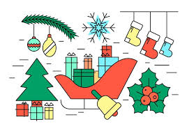 free christmas vectors download free vector art stock graphics