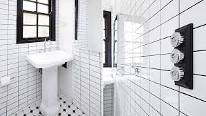 bathroom 10 eye catching and luxurious black and white bathroom