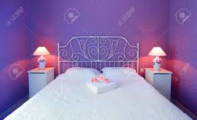 chambre de luxe avec romantique design intérieur chambre de luxe avec une lumière