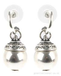 miglio earrings guess glossy hearts earrings silver tone drops earrings women s