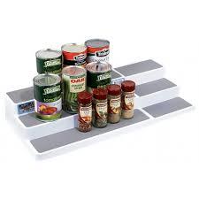 3 tier kitchen cabinet organizer madesmart shelf organiser expandable 3 tier from storage box