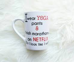 funny mugs for women funny coffee mug netflix and chill