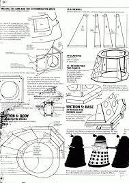 build blueprints how to build a dalek project ideas