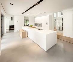 modern and transparent country home with a car gallery huizen modern country home kitchen1
