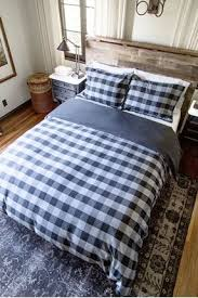 Black Duvet Covers And Charcoal Buffalo Check Duvet Cover
