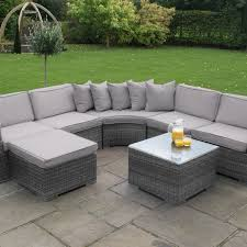 sofa mauritius grey rattan garden sofas 3 seater sofa fishpools
