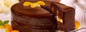 chocolate mandarin orange cake dessert recipes dole packaged