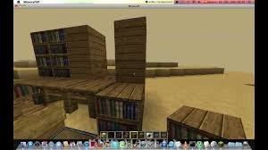 comment faire un bureau minecraftconstruction tuto comment faire un bureau et un