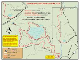 Map Of Wisconsin Dells by Northwoods Ice Age Trail