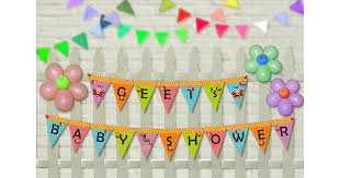 baby shower return gifts personalized banner bee