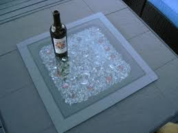 fire table cover rectangle propane fire pit cover convert outdoor tables into fire tables