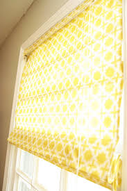 Make Roman Shades From Blinds Diy Window Treatments Roman Shades Homemade Ginger