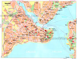 istanbul turkey map 20 top tourist attractions in istanbul planetware