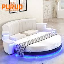 Platform Bed Led Round Bed Frame Round Bed Frame Suppliers And Manufacturers At